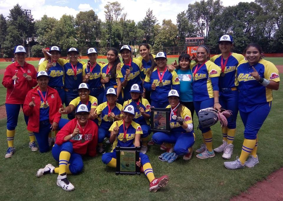 BC campeón nacional en beisbol femenil