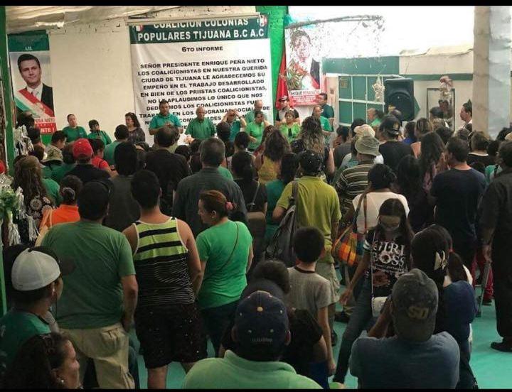 Resaltan colonos acciones del presidente Enrique Peña Nieto