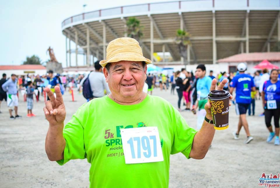 Revela Sergio Sandoval su motivación por el atletismo
