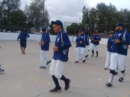 Seleccionados de BC calentamientos para duelo contra San Luis Potosí azul