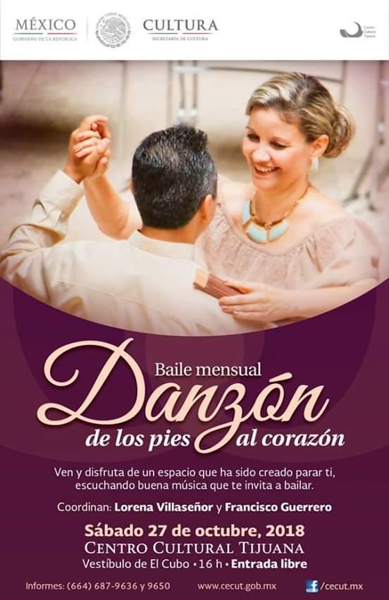 Invitan a baile gratuito de danzon en el Cecut