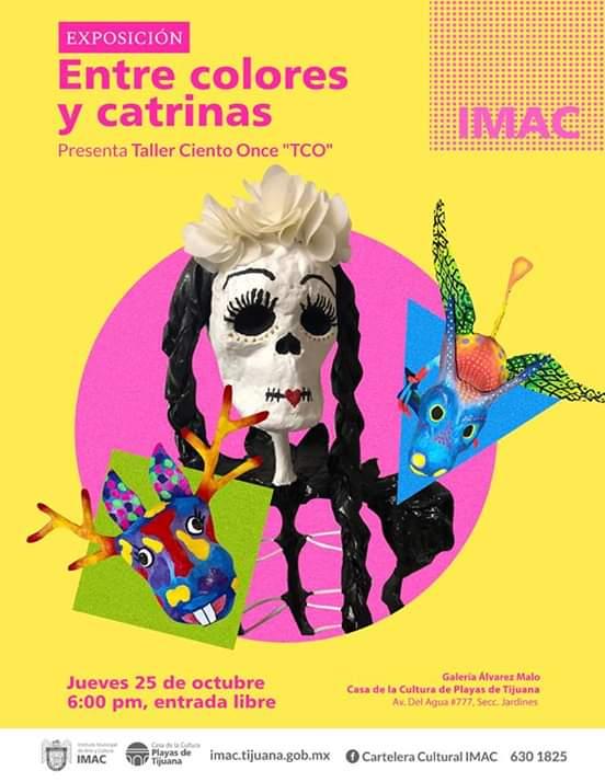 Invitan a exposición de Catrinas
