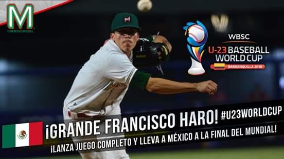 México va por la gloria en béisbol mundial