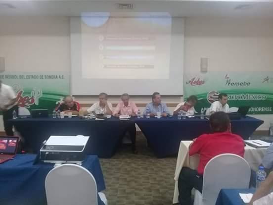 Inician trabajos en Sonora directivos nacionales de beisbol
