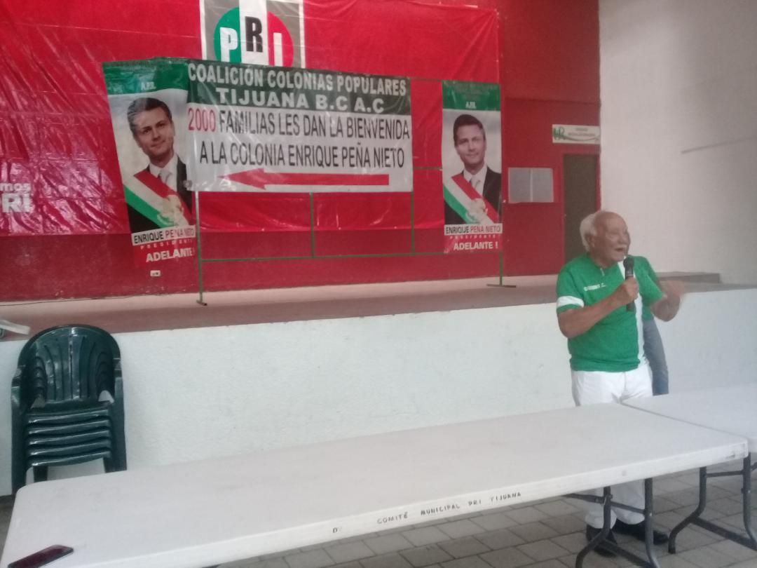 Reafirma  priismo la Coalición de Colonias Populares
