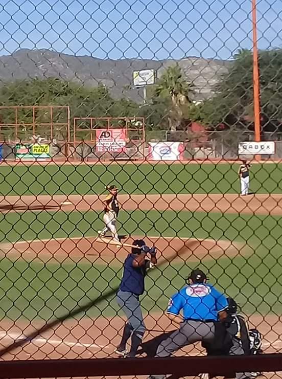 Baja California esta dominando 9 por 4 a Hidalgo