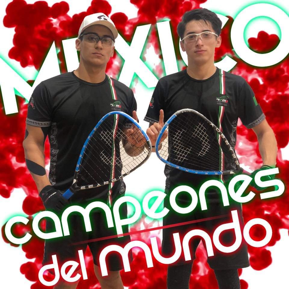 Sebastian Fernández y Rodrigo Rodríguez son Campeones del Mundo