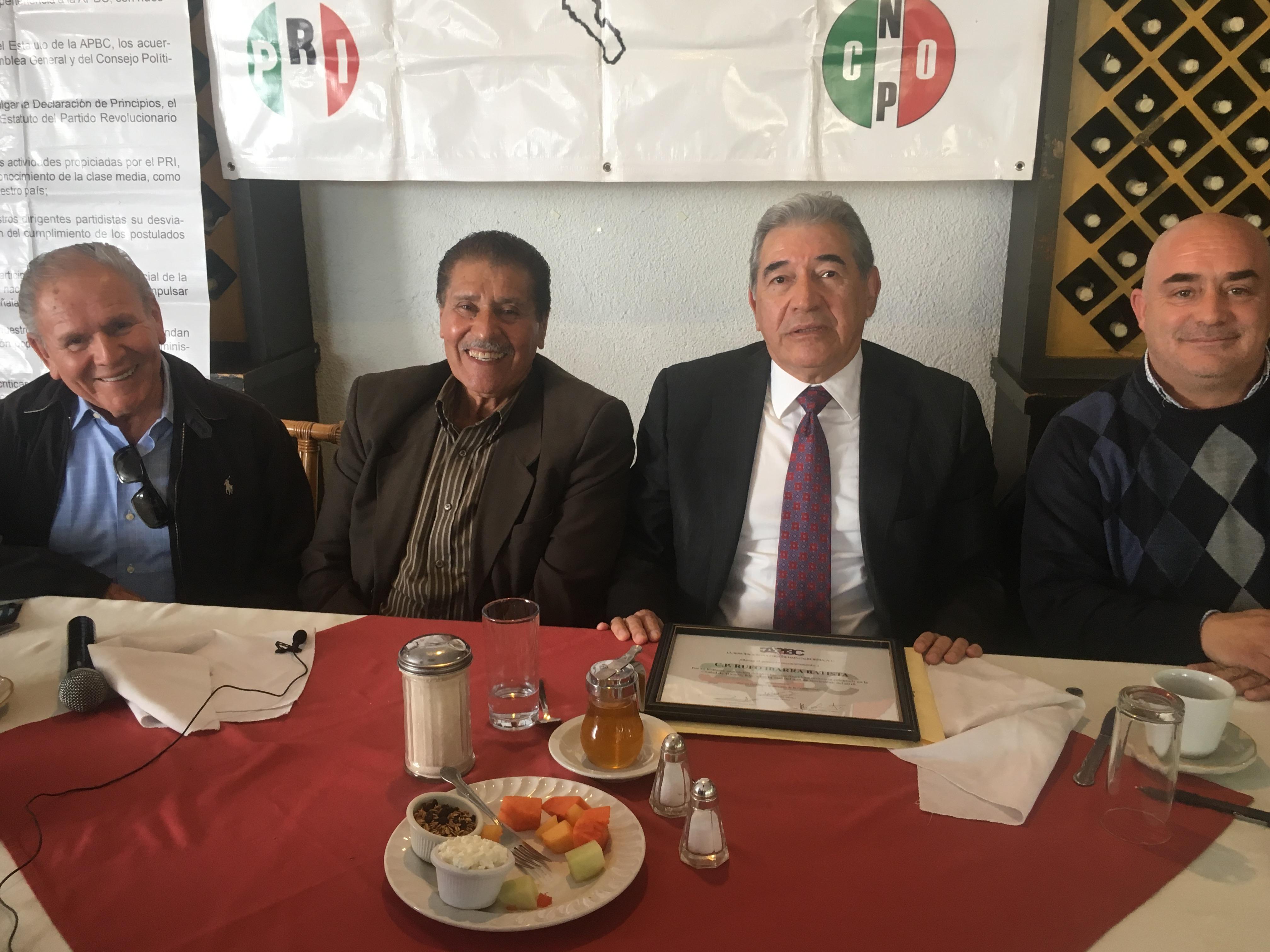 Destaca Rufo Ibarra en APBC  sus principales logros