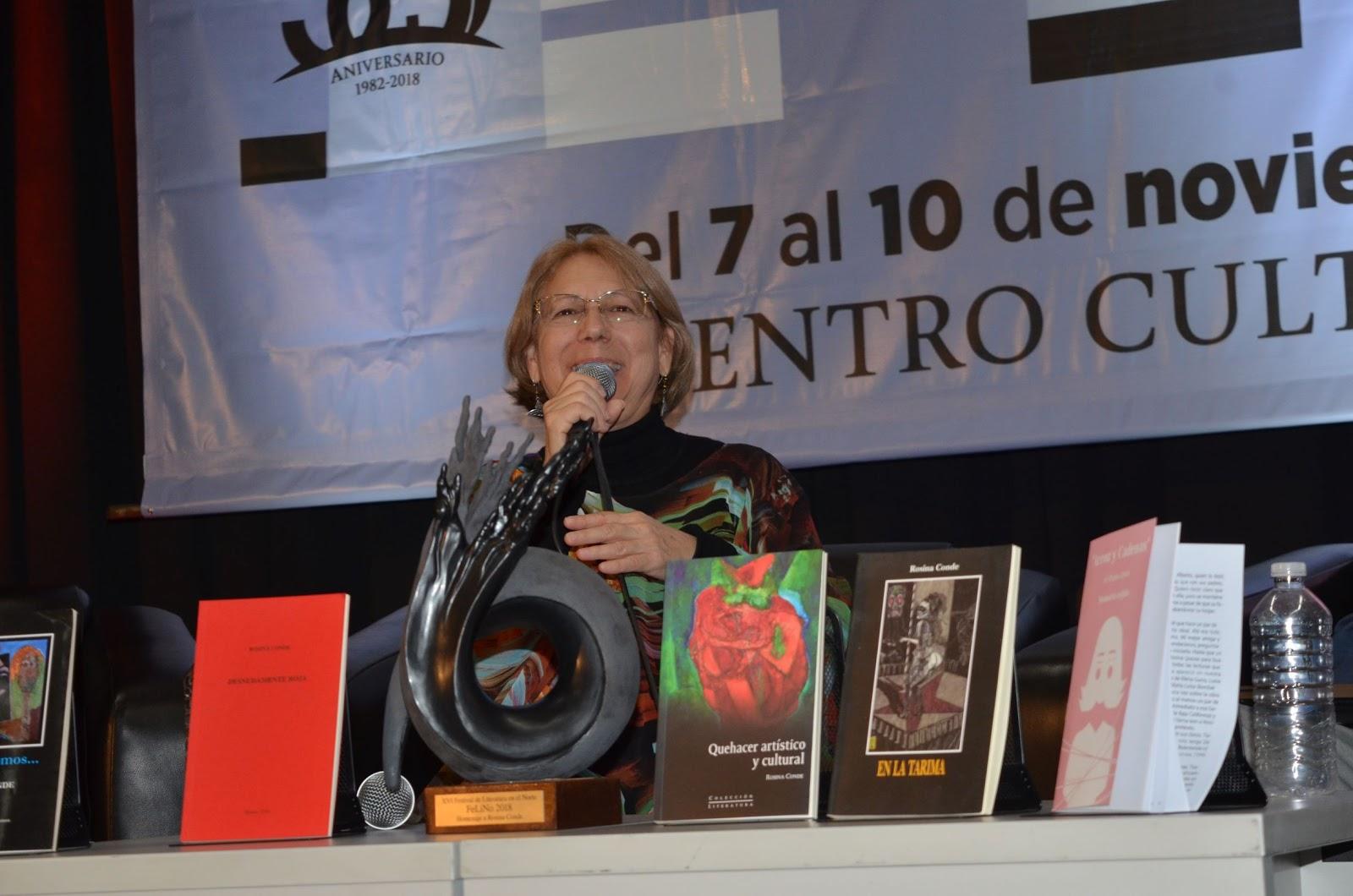 INICIA EL XVI FESTIVAL DE LITERATURA EN EL NORTE