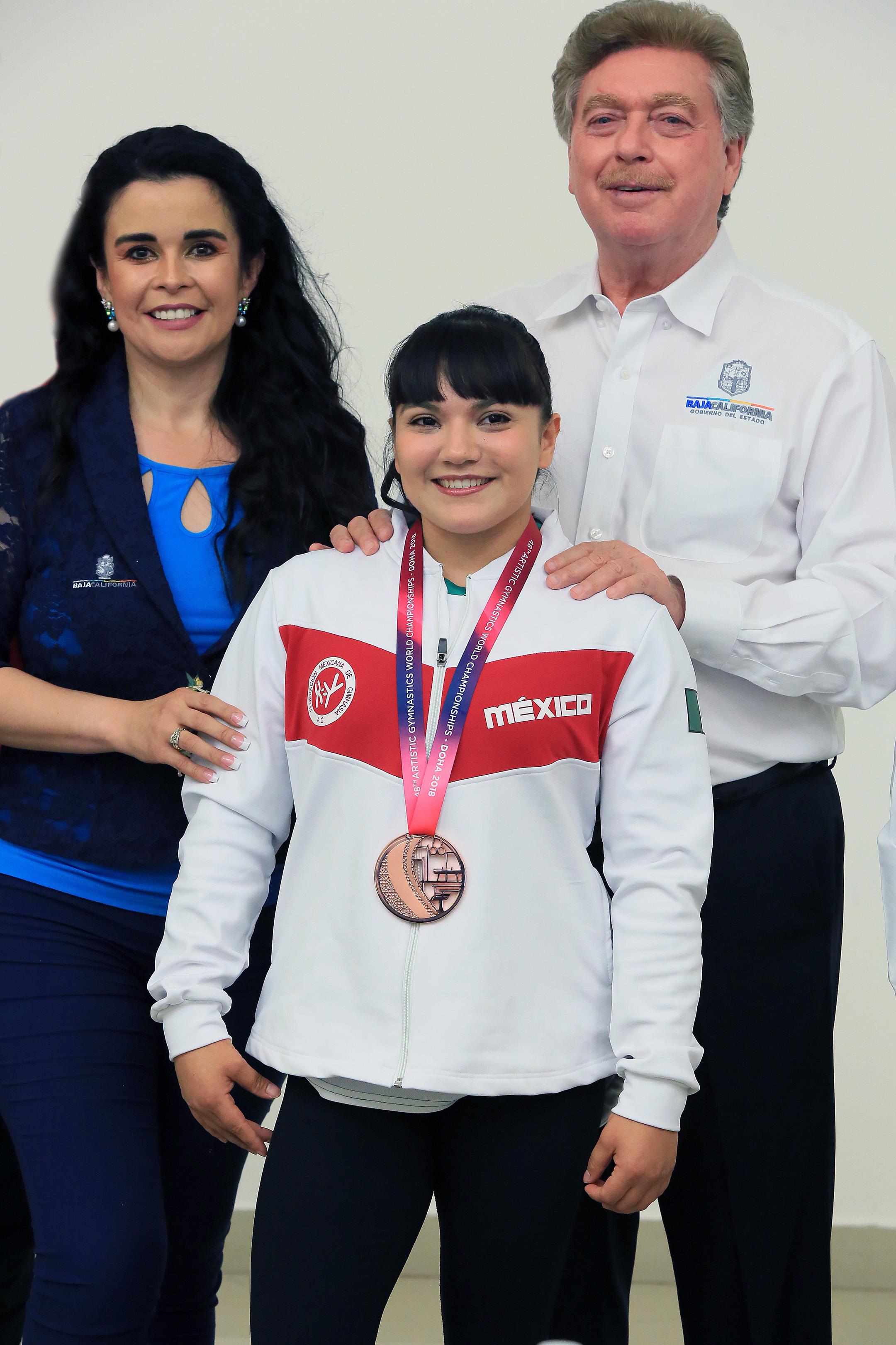 Ganar medalla olímpica, máxima aspiración de Alexa Moreno