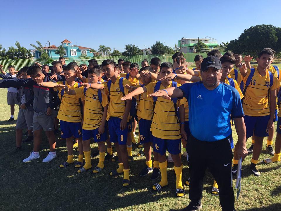 BC participa con 2 selecciones en nacional de futbol Sub 14
