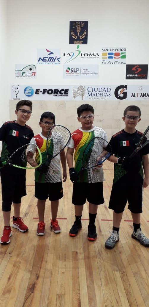 México buscará el mayor número de medallas en Mundial Racquetball  Infantil y Juvenil