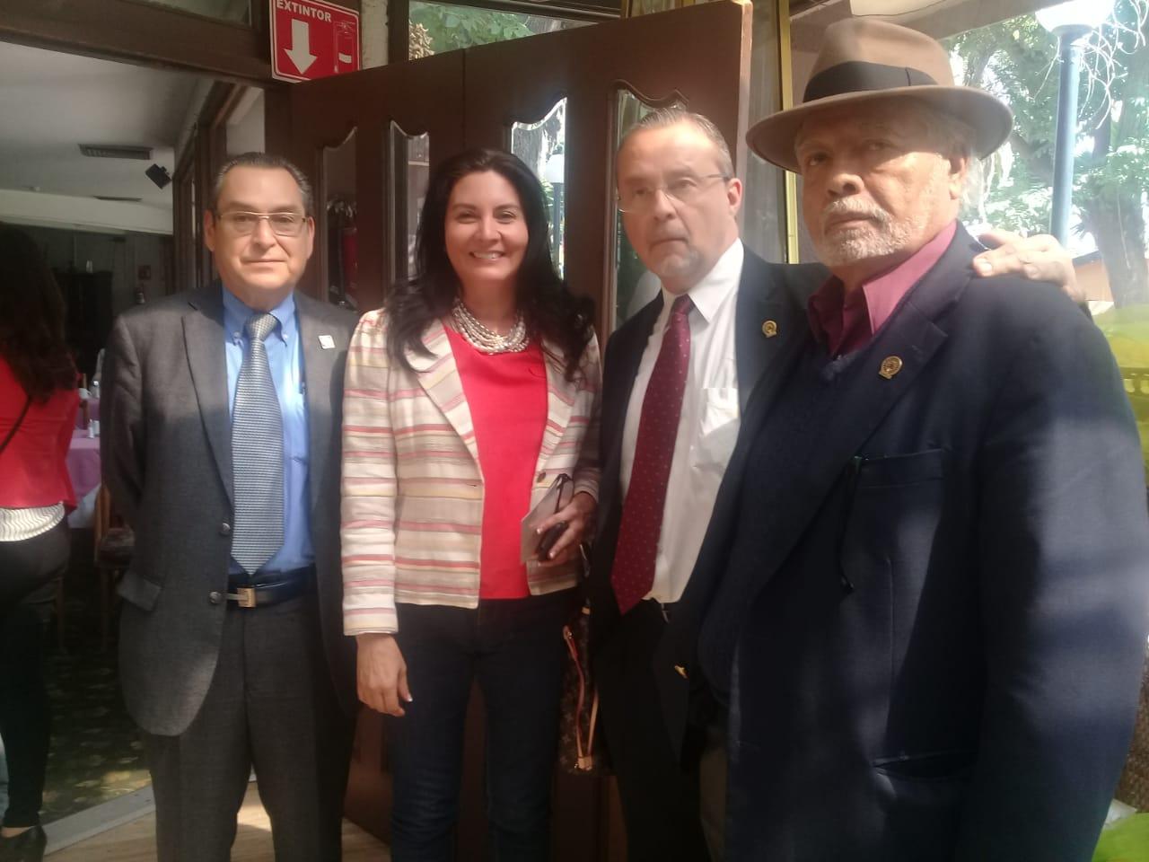 Presidente de Coparmex visitará al  Grupo 21