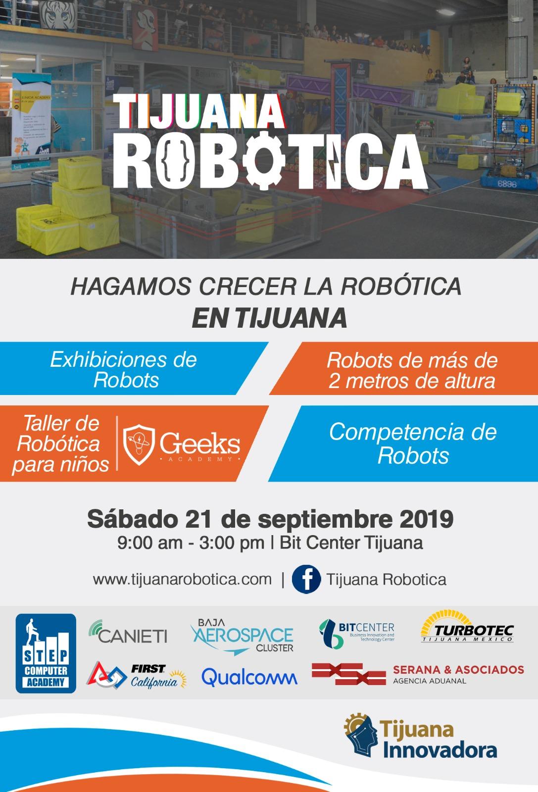 Invitan a exhibición internacional de robótica
