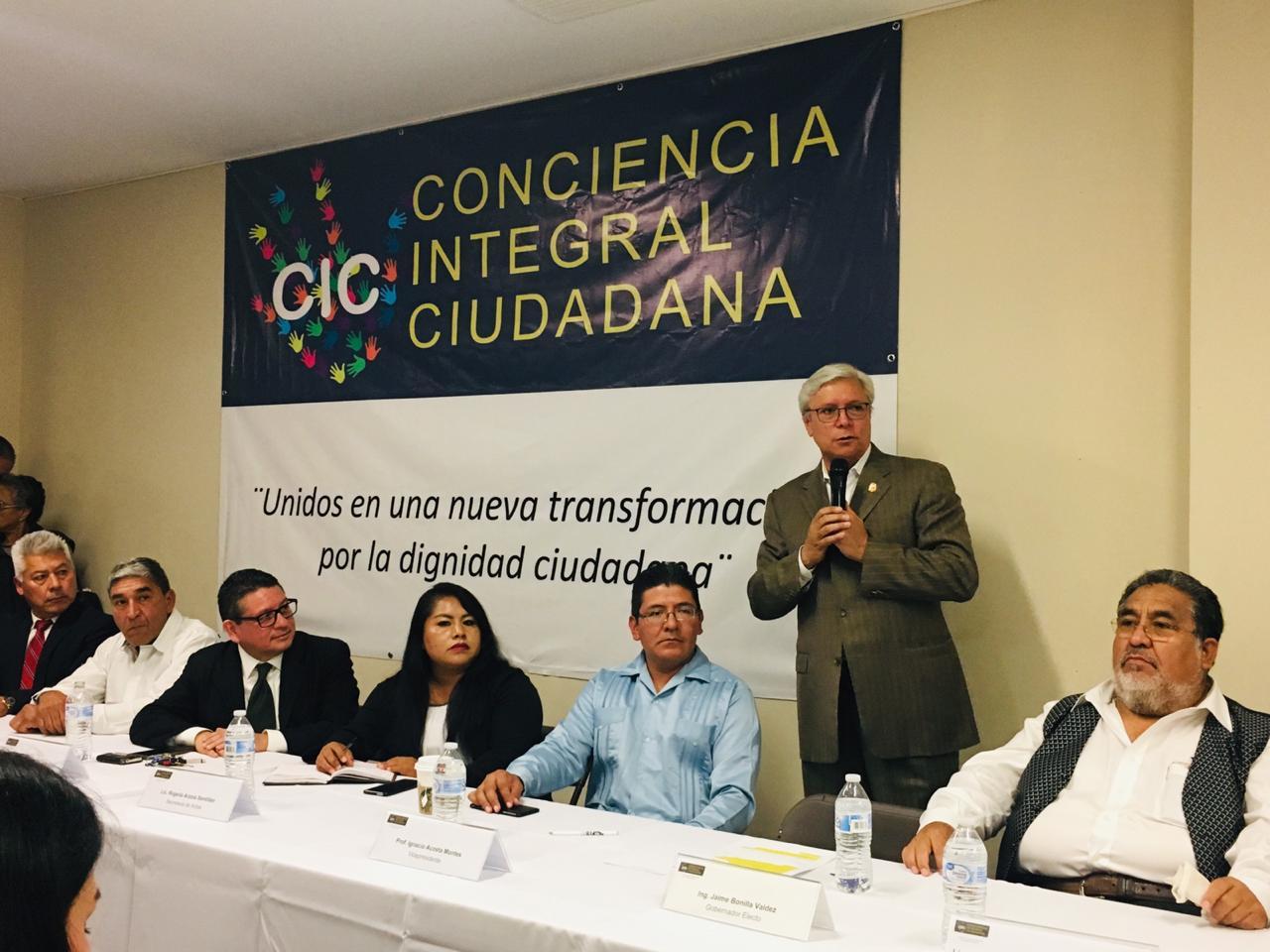 Participa Tomás Sibaja en Conciencia Integral Ciudadana