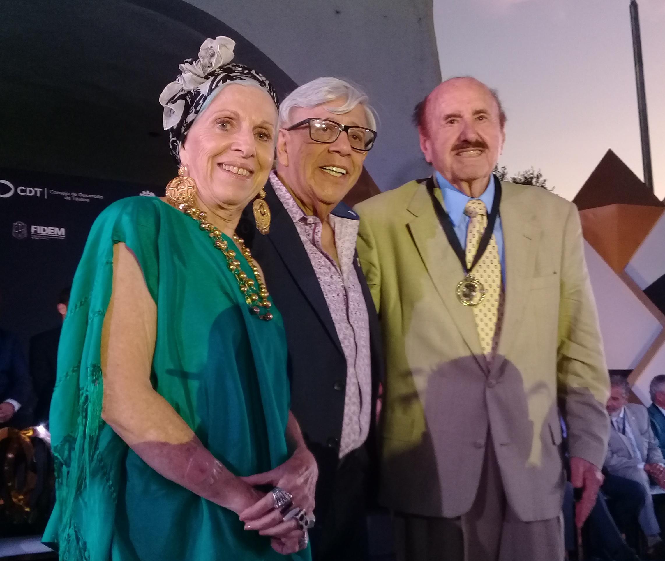 Juan Medrano y Benjamín Rendón, personajes del Paseo de la Fama de Tijuana