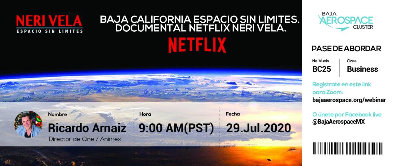 Invitan a charla Aeroespacial con el cineasta Enrique Arnaiz