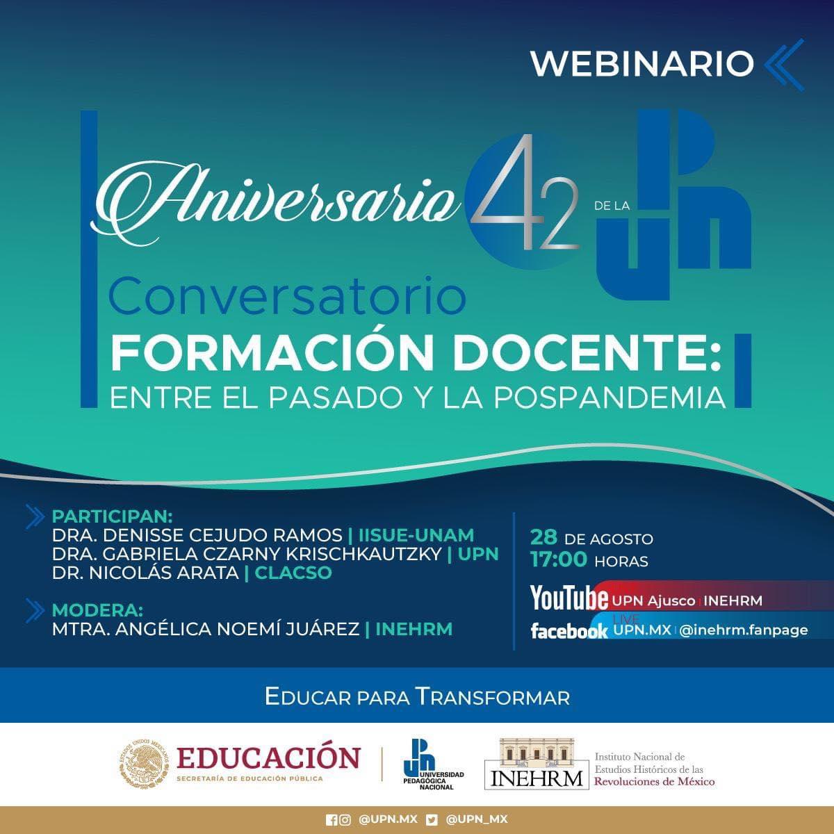 Celebra 42AniversariolaUniversidad PedagógicaNacional