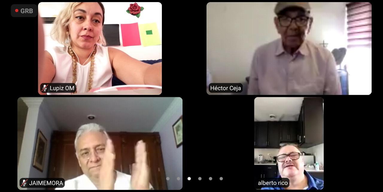 Histórica y productiva primera reunión virtual de Femecrode