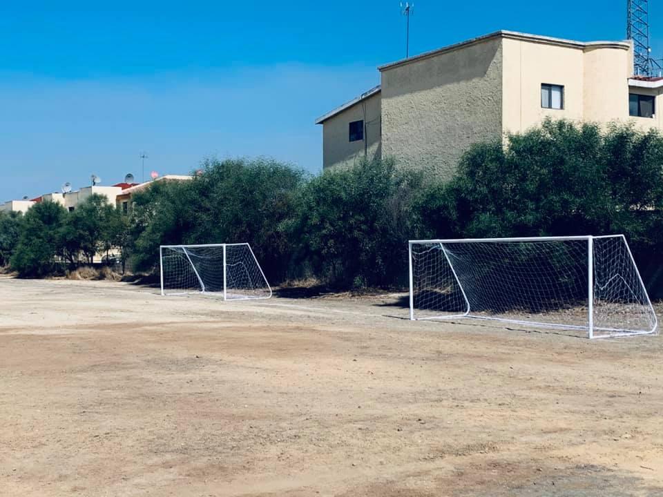 Acondicionan áreas  para practicar deporte  en UPN Tijuana