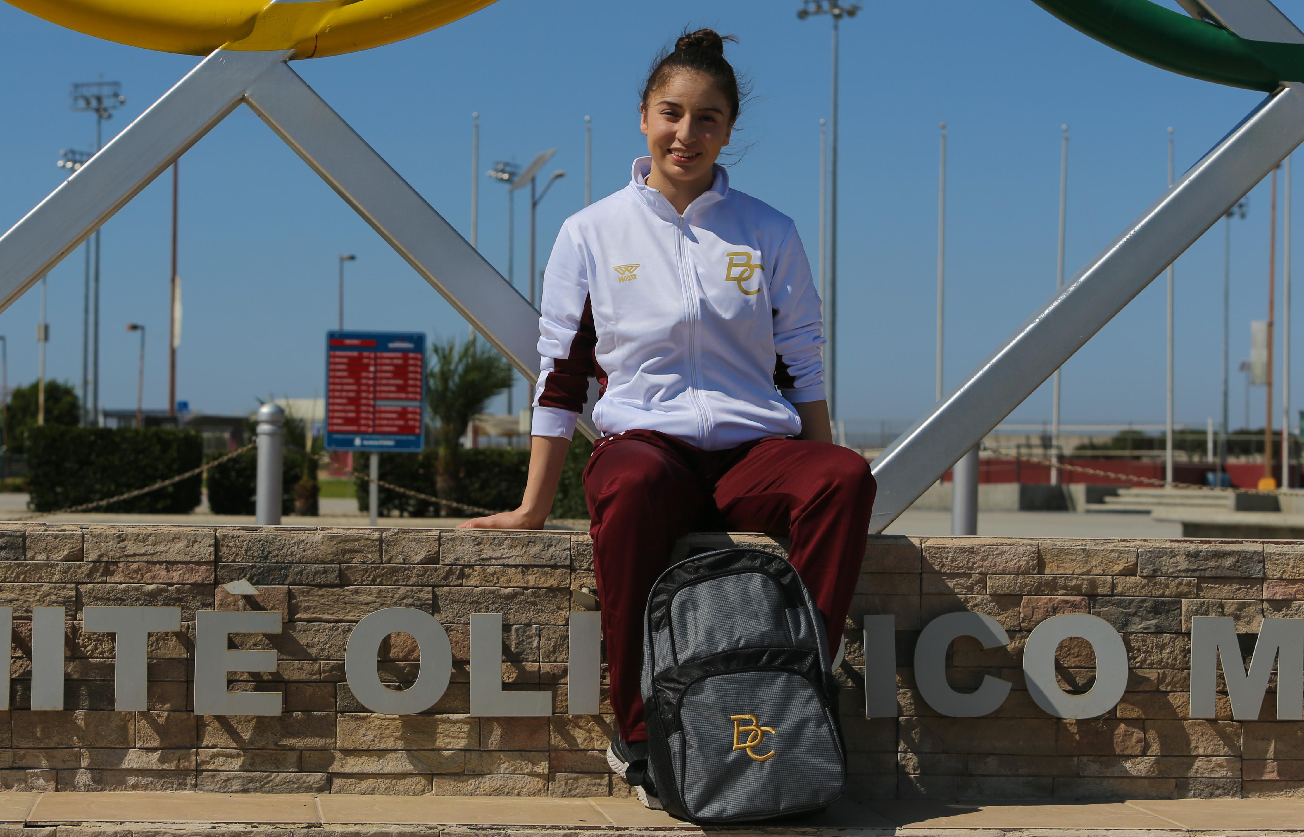 Un honor y distinción recibir  uniforme de BC: Daniela Souza
