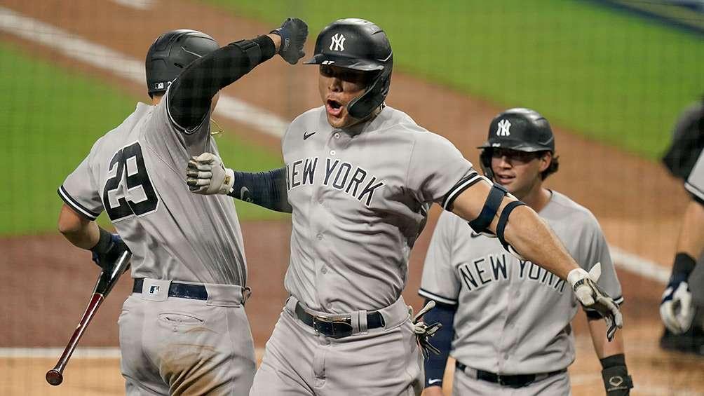 Yankees con el sello de  la casa, 9-3 a Tampa Bay