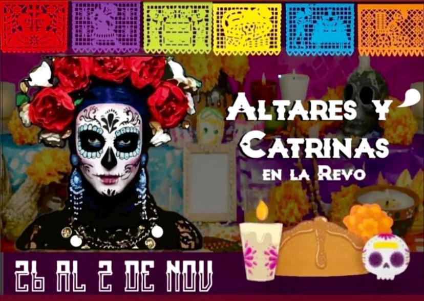 """Altares y Catrinas en la """"Revu"""""""