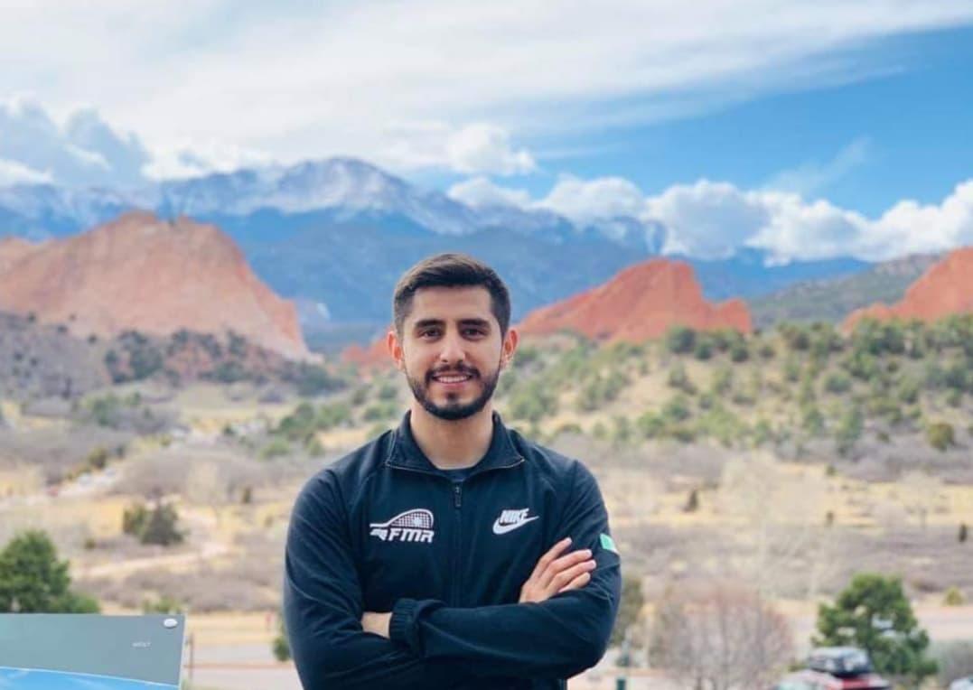 Deseo que el raquetbol un día sea olímpico: Rodrigo Montoya