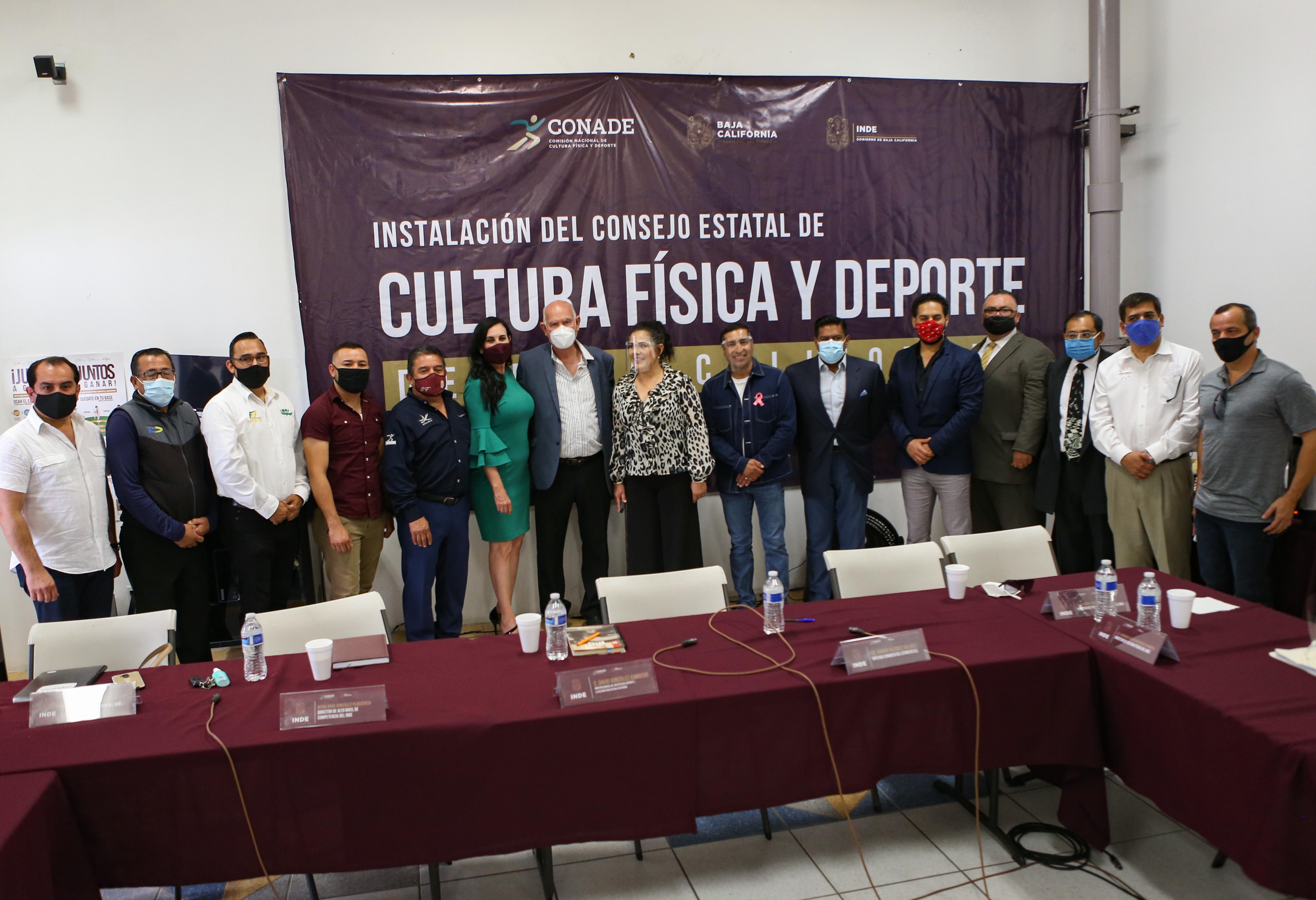Quedó integrado el Consejo del SECUDE en Baja California