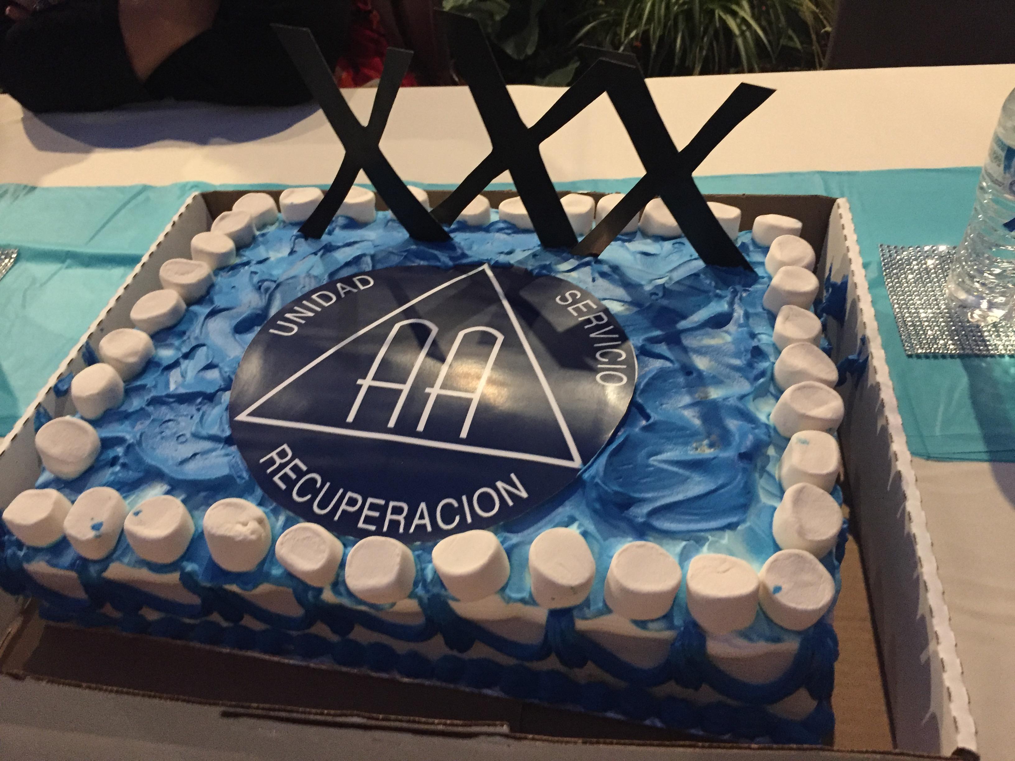 Celebraron 30 Aniversario del Grupo Fe y Recuperación de AA
