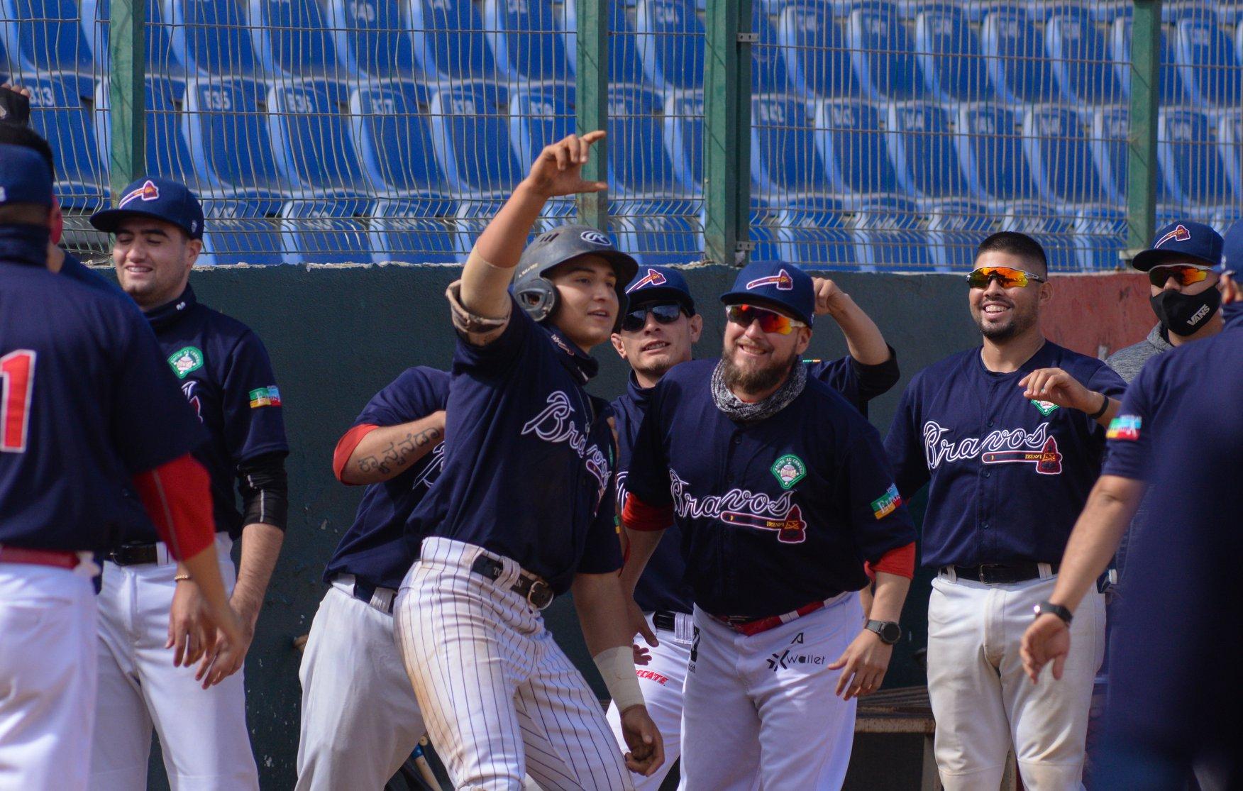 Enfila Bravos al campeonato del Estatal de Beisbol INDEBC 2020