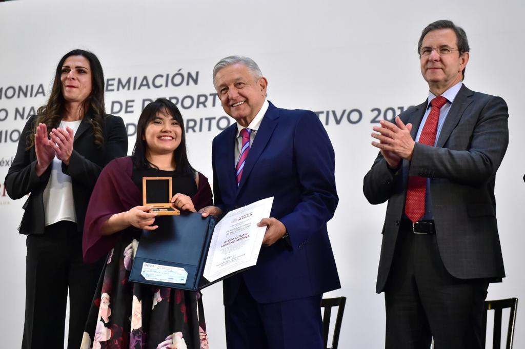 Impone Premio Nacional de Deportes 2020 récord de candidaturas