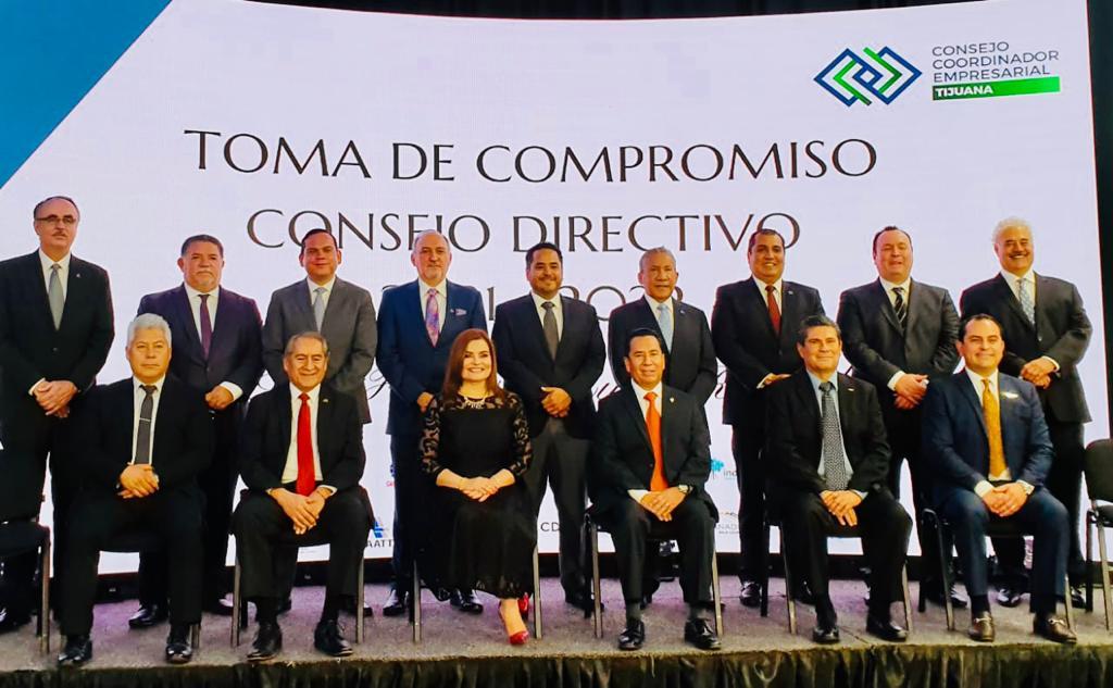 Toma protesta Francisco Rubio como presidente del CCE Tijuana