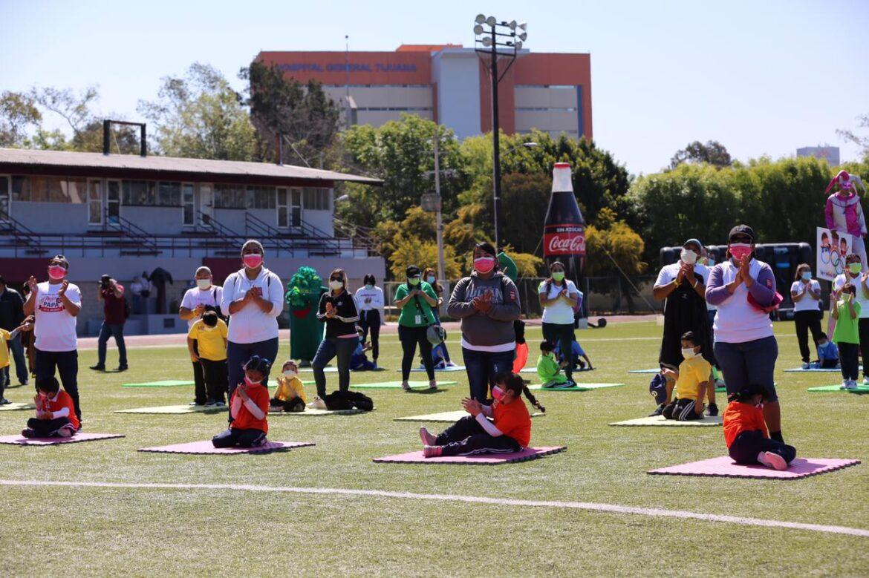 Divierte Mini Olimpiada a niños de instancias infantiles del DIF