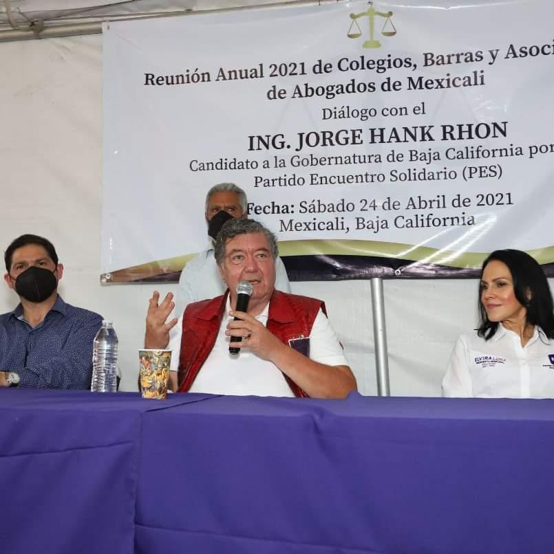 Agradecen Abogadas la invitación Diálogo con Candidato Jorge Hank