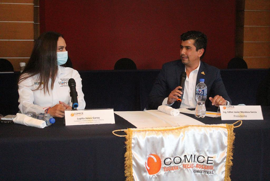 COMICE TTR sostuvo un encuentro con la candidata Lupita Jones