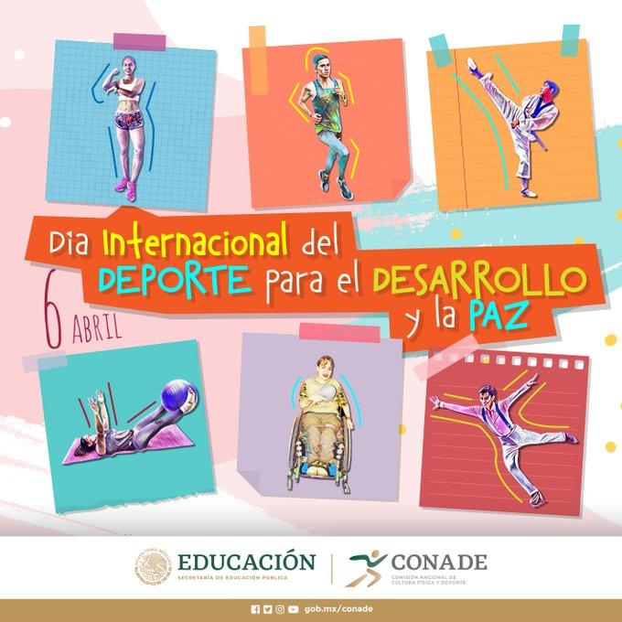 Este martes 6 de abril es el Día Internacional del Deporte