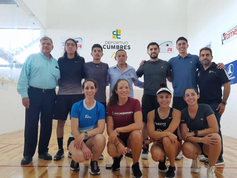 Lista Selección Mexicana de Raquetbol 2021