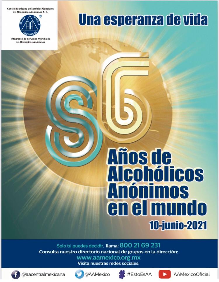 Surgió Alcohólicos Anónimos al mundo en junio de 1935