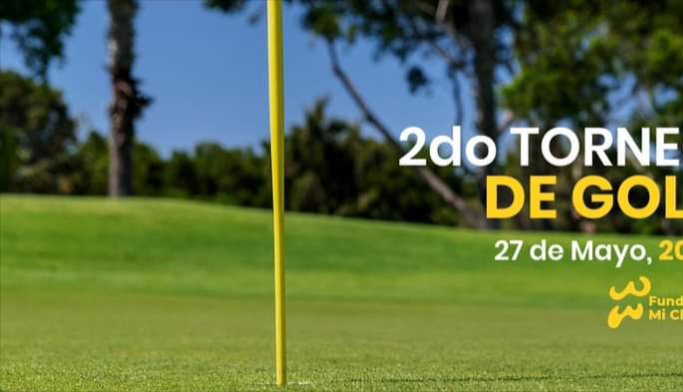 "Anuncian para 2022 Segundo Torneo de Golf ""Fundación Mi Chante"""