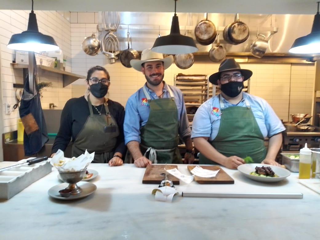 Muestra Chef Carlos Bañuelos propuesta culinaria de Somos del Norte