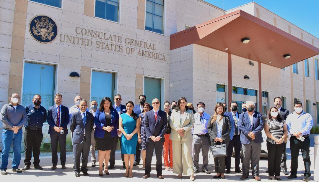 Consulado de EU inaugura estación de monitoreo de la calidad del aire