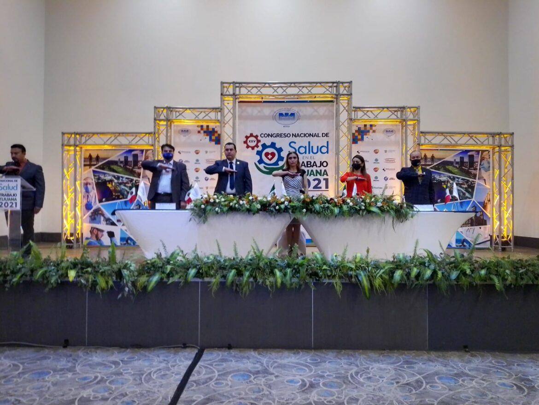 Inauguran XXV Congreso Nacional de Salud en el Trabajo Tijuana 2021